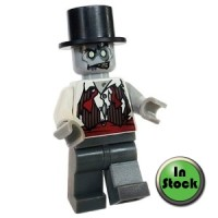 LEGO mof011 Zombie Groom - Monster Fighters 9465 The Zombie - NEW 2012