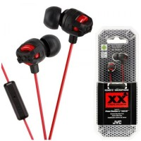 JVC HA-FR201 Xtreme Xplosives in-earphones with Remote/Mic Red