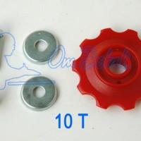 harga Roda Gigi Rd (letter S) 10t. Red Tokopedia.com