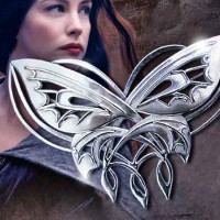 harga Bros Cantik, Brooch Butterfly Arwen Lord Of The Ring Perak 925 Tokopedia.com