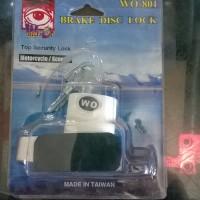 Disk Brake Lock / Kunci Cakram WO
