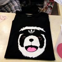 kaos/t-shirt adidas panda
