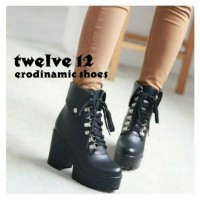 Sepatu Boots Wanita Korea Jepang