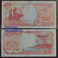 Uang Lama Kuno 100 Rupiah 1992 Perahu Pinisi