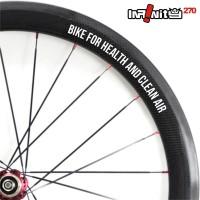 harga Sticker Sepeda Rim Wheel 700c Teks Bike Health Clean Air 4x/wwsq-005 Tokopedia.com