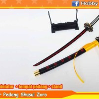 [ANIME] Miniatur Pedang Shusui Zoro