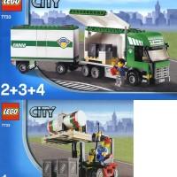 LEGO 7733 CITY Truck & Forklift
