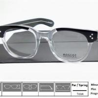 Kacamata Frame Moscot Vilda Black Crystal