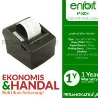 Printer Kasir Enibit P80 Thermal Pos Receipt 80mm Auto /USB+Ethenet