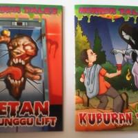 Buku Komik Cerita Seram Colour Full Edition SUPER MURAH