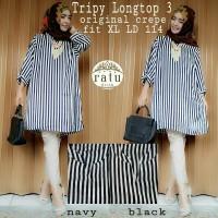 harga Supplier Baju Hijab : Tripy Long Top Ori By Ratu Tokopedia.com