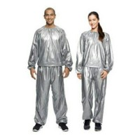 Slimming sauna suit premium quality made in china silver best seller