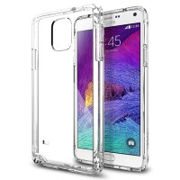 Spigen Ultra Hybrid Samsung Galaxy Note 4 Case - Crystal Clear