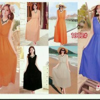 Long Dress Chiffon / Sifon Import