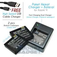 Harga Dual Charger Xiaomi Yi Travelbon.com