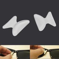 Nosepad Kacamata Silicone Transparant