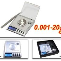 Timbangan Digital Mini / DIgital Pocket Scale Akurasi 0,001 u/ Permata Diamond Emas Obat ( TERMURAH !!)