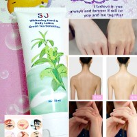 SJ WHITENING HAND BODY LOTION GREEN TEA SENSATION BPOM AMAN HALAL ORI
