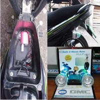 harga ALARM ANTI MALING MOTOR GMC AUDIO MP3 RADIO FM LAMPU EMERGENCY CHARGER Tokopedia.com