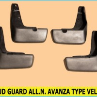 harga MUD GUARD TOYOTA ALL NEW AVANZA TYPE VELOZ ( Karet Panahan Lumpur ) Tokopedia.com