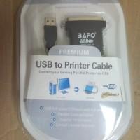 Kabel USB TO PARARREL BAFO ( USB TO LPT )