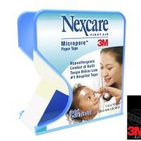 harga 3M Nexcare Micropore (Plester) 1 IN X 10 YDS- Untuk Menempelkan Perban Tokopedia.com