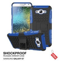 Samsung Galaxy E7 Rugged Shockproof Armor Hybrid Hard Case & Soft Case