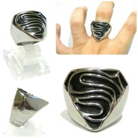 Superman Logo Ring Cincin S Superman Simbol Keren