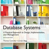 Database Systems: A Practical Approach to Design, by Thomas Connolly
