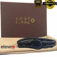 harga Brecelet / Gelang Kulit Branded Montblanc + Box Import Premium Tokopedia.com