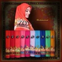 Zoya jilbab segi empat