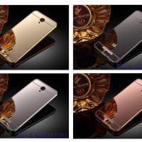 Luxury Mirror Almunium Case REDMI NOTE 2 +Bonus/ Metal Aluminium Cover