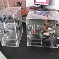 Casing Acrylic (Transparan) ISOLARIS