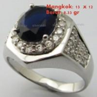 *** SALE *** PERAK 925 cincin cowok ikat batu emban YLF014-AB