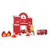 Plan Toys Fire Station - PT6619