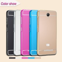 Metal Frame + Sliding PC Back Cover for Xiaomi Redmi Note 2 - Prime