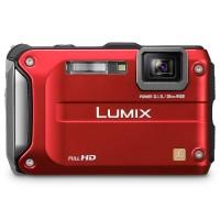 Panasonic Lumix DMC FT3 - 12 MP - Red