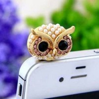 harga Aksesoris Hp Plug Headset Ph84 Owl Lucu/burung Hantu Tokopedia.com