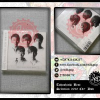 [READY STOCK] Tohoshinki / DBSK / TVXQ Best Selection 2010 CD+DVD