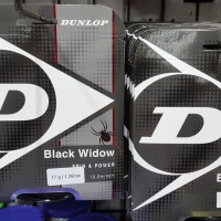 Senar Tenis DUNLOP BLACK WIDOW SPIN & POWER