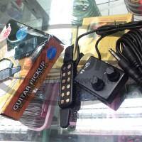 HOT ! Pick Up Spul Gitar Effect Akustik DH QH-6A NEW