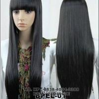 Jual wig panjang barbie hair berponi Murah