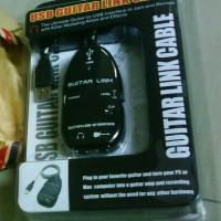 harga USB Guitar Link V1 - Black, Efek gitar dan bisa Home Recording Tokopedia.com