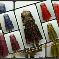 batik gamis katun songket (gamis modern) , baju muslim wanita