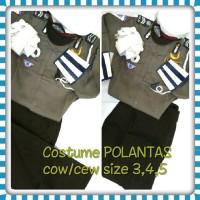Baju Polantas/Polisi Lalu Lintas untuk Anak TK-SD