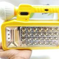 Senter + Lampu Emergency / Kombinasi DC dan AC