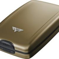 harga TRU VIRTU OYSTER2 CLASSIC LINE GREY OYSTER ANTI RFID ALUMINIUM WALLET Tokopedia.com