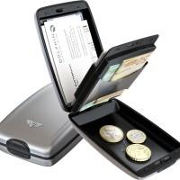 harga TRU VIRTU OYSTER2 CLASSIC LINE SILVER ARROW ANTI RFID ALUMINIUM WALLET Tokopedia.com