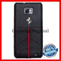 Ferrari Hard Case Samsung Galaxy S2 Fecfgs2b - Black