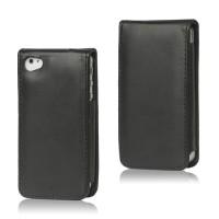 iPhone 4,4S Premium Leather Flip Case